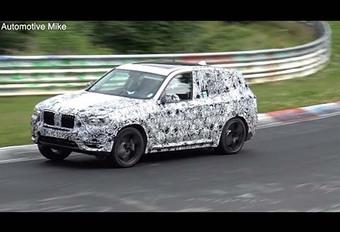 BMW X3 M : programmé pour 2018 #1
