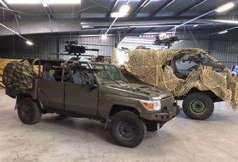 L'armée belge a son nouveau tout terrain léger #1