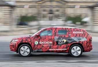 Skoda Kodiaq : une sortie pour la finale du Tour de France           #1