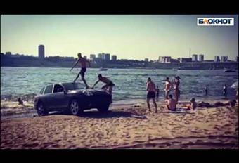 Porsche Cayenne : utilisé comme simple plongeoir #1