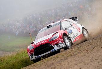 Kris Meeke wint rally van Finland, Neuville vierde #1
