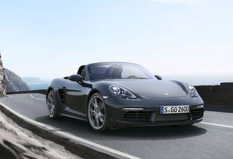 Porsche 718 Boxster et Cayman auront leur chant du « six » #1