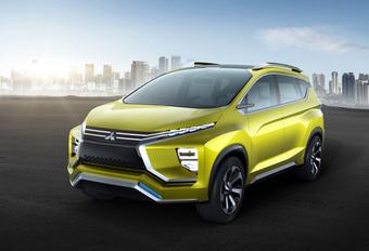 Mitsubishi toont XM Concept als Crossover MPV #1
