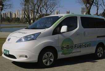 Nissan présente la pile à combustible sans hydrogène #1