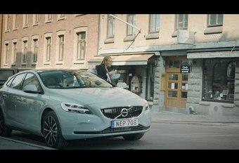 Volvo démontre sa livraison « dans le coffre » #1