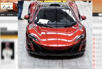 McLaren : un monstre dans les cartons ? #1