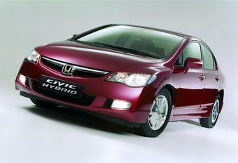 Honda Civic Hybride technologie #1