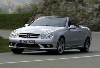 Un nouveau V8 pour la Mercedes CLK #1