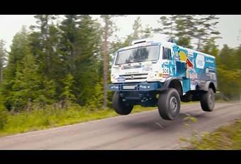 La Polo WRC contestée par un camion du Dakar ! #1