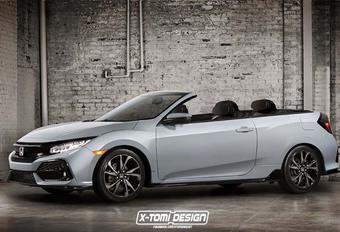 Honda Civic : pourquoi pas en cabriolet ? #1