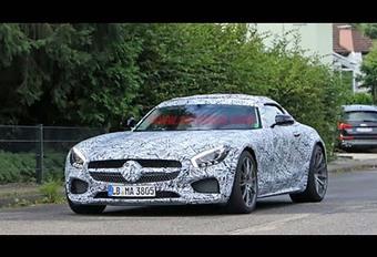 Mercedes-AMG GT : le roadster se profile #1