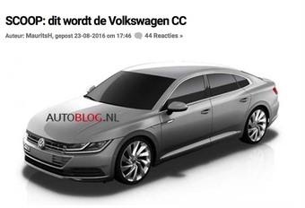 Volkswagen Passat CC : dévoilée avant l'heure #1