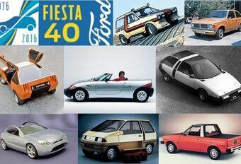 40 ans de Ford Fiesta en 20 concepts #1