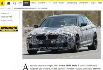 BMW M5 : 600 ch ? #1