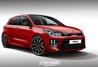 Kia : la future Rio GT ? #1