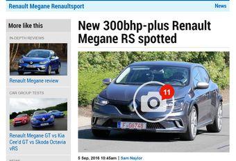 Renault Mégane R.S. bereidt zich in stilte voor #1