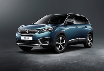 Peugeot 5008 wordt SUV met zeven plaatsen #1