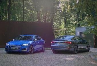L'Audi A5 Sportback en mouvement #1