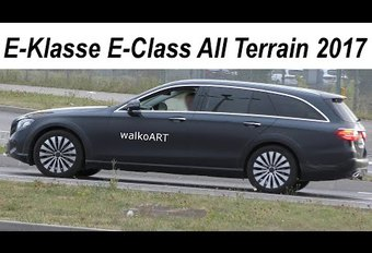 La Mercedes Classe E « Allroad » est de sortie #1