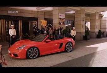 Knipoog van Porsche naar Mc Dreamy #1
