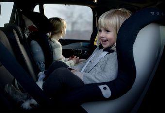 Volvo : nouveaux sièges enfant #1