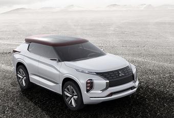 Mitsubishi met stoere en 'groene' GT-PHEV Concept naar Parijs #1