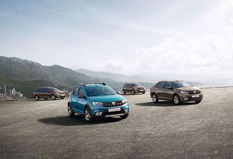 Dacia Logan en Sandero hebben recht op facelift #1