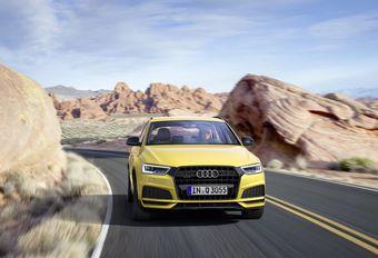 Audi Q3 : mieux les distinguer #1