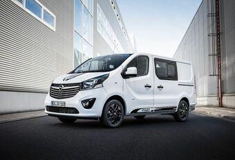 Opel Vivaro Sport : le travail, c'est du sport #1