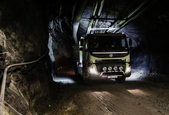Volvo : camion autonome dans une mine #1
