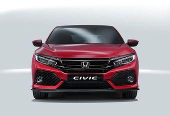 De nieuwe Honda Civic laat zich zien #1