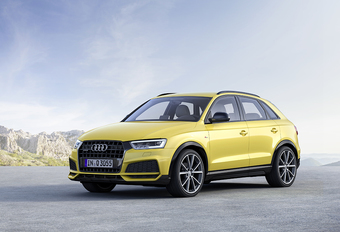Audi Q3 weer een beetje stoerder #1