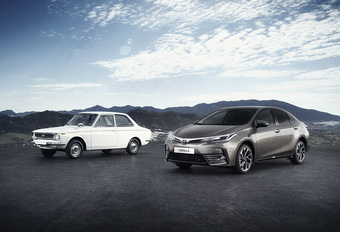Toyota Corolla viert 50ste verjaardag als 's werelds populairste auto #1