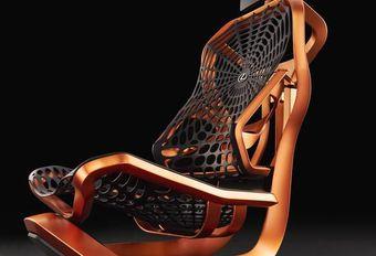Lexus Kinetic: prototype van stoel in Parijs #1