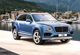 Bentley Bentayga slurpt nu ook diesel #1