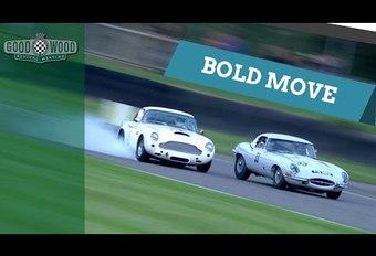 Aston Martin DB4 GT versus Jaguar E-Type #1