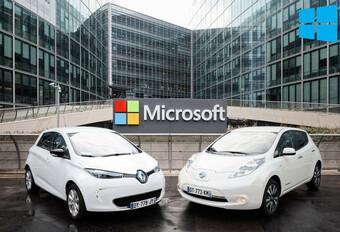 Alliance entre Renault-Nissan et Microsoft #1