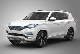 LIV-2 Concept gaat nieuwe SsangYong Rexton vooraf #1