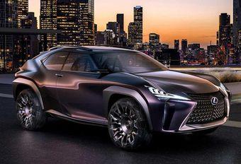 Lexus UX : concept du remplaçant de la CT200h #1
