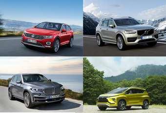 Alle SUV's voor 2017 en 2018 #1