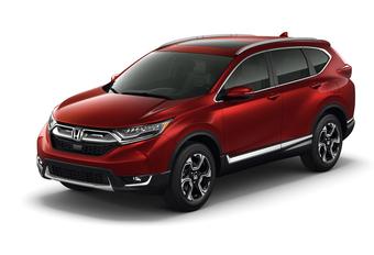Nieuwe Honda CR-V met 1.5-turbomotor #1