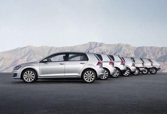 Volkswagen Golf: facelift in aantocht #1