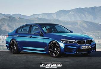 BMW : Comme ça la future M5 ? #1