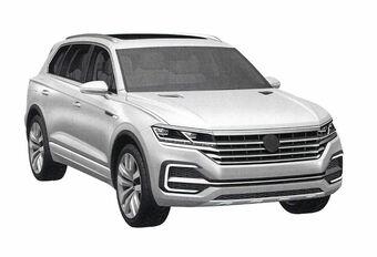 Volkswagen Touareg : images 3D en fuite #1