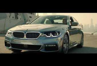 Film BMW : la Série 5 s'évade #1