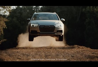 Video: Audi maakt de hele stad Allroad #1