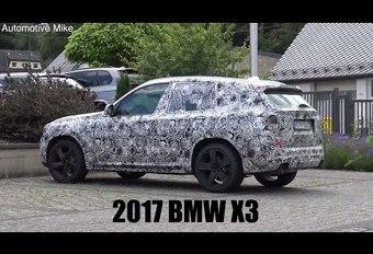 Le futur BMW X3 à l'assaut du Ring #1