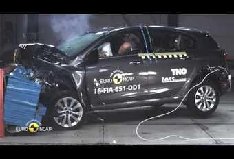 EuroNCAP : la Fiat Tipo obtient 3 étoiles #1