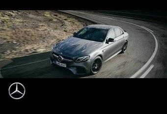 La Mercedes-AMG E 63 S 4Matic+ en piste #1