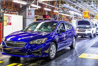 Subaru Impreza : début de la production aux États-Unis #1
